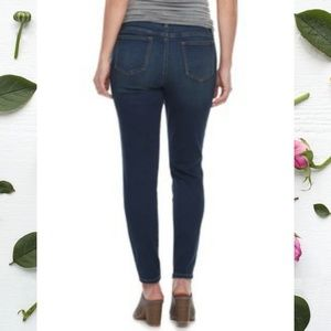 a:glow Jeans - A:Glow Over The Belly Maternity Jeggings